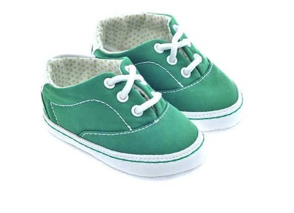 511024 Freesure Yeşil Kız Bebek Patik  Bebek Ayakkabı