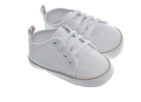 911420 Freesure Beyaz Erkek Bebek Patik  Bebek Ayakkabı