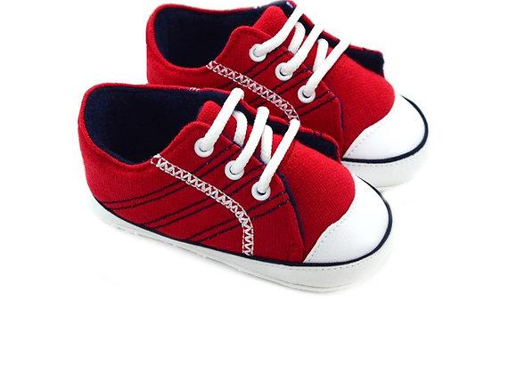 512160 Freesure Kırmızı Erkek Bebek Patik  Bebek Ayakkabı