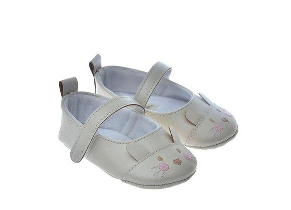 812801 Freesure Ekru Kız Bebek Patik  Bebek Ayakkabı