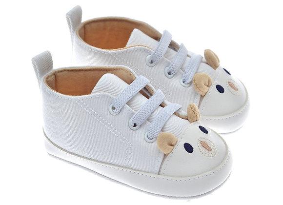 201212 Freesure Beyaz Erkek Bebek Patik  Bebek Ayakkabı