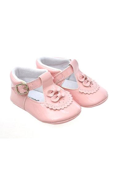 812815 Freesure Pembe Kız Bebek Patik  Bebek Ayakkabı