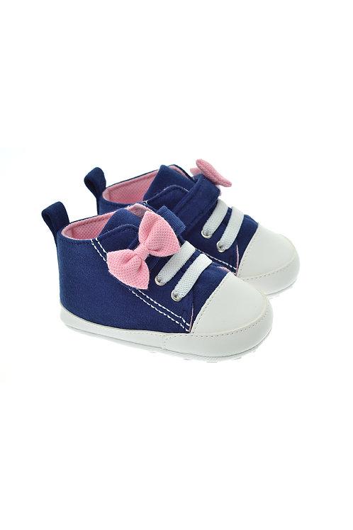 211612 Lacivert Freesure Kız Bebek Patik Bebek Ayakkabı