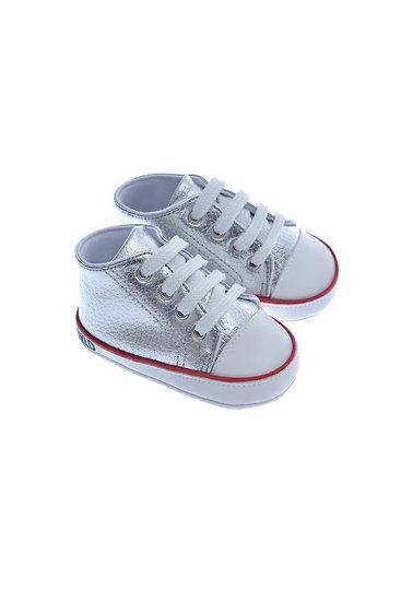 911214 Freesure Gümüş Kız Bebek Patik  Bebek Ayakkabı