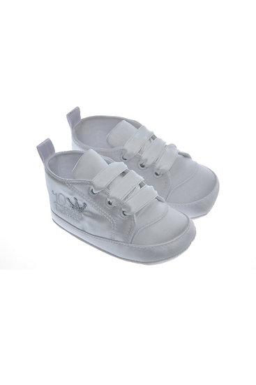 911419 Freesure Beyaz Erkek Bebek Patik  Bebek Ayakkabı
