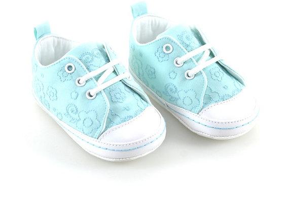 511006 Freesure Su Yeşili Kız Bebek Patik  Bebek Ayakkabı