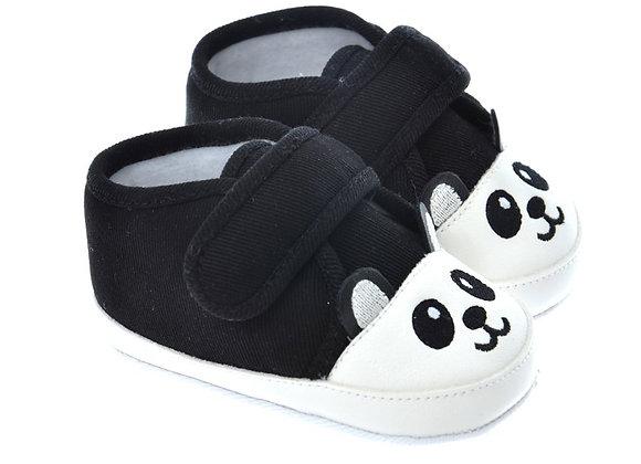 712507 Freesure Siyah Bebek Patik  Bebek Ayakkabı