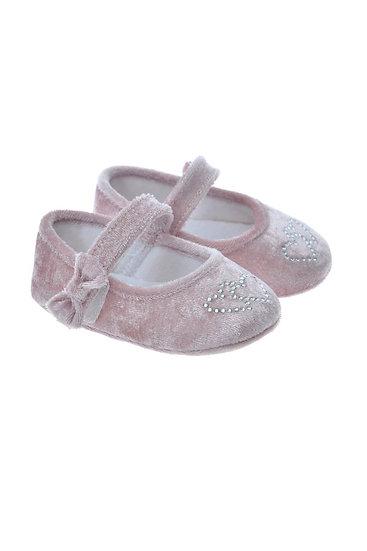 712402 Freesure Pembe Kız Bebek Patik  Bebek Ayakkabı