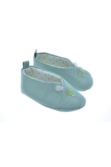 811623 Freesure Yeşil Kız Bebek Patik  Bebek Ayakkabı