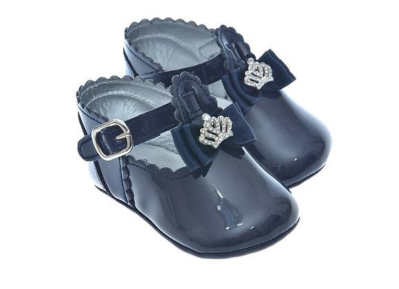 911211 Freesure Lacivert Kız Bebek Patik  Bebek Ayakkabı
