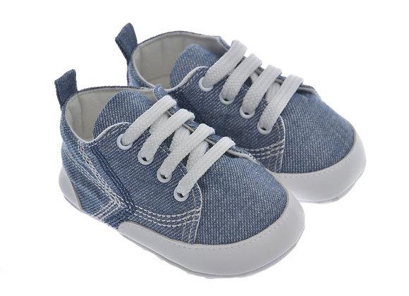 911409 Freesure Jean Erkek Bebek Patik  Bebek Ayakkabı