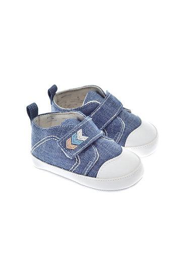 201229 Freesure Mavi Erkek Bebek Patik  Bebek Ayakkabı