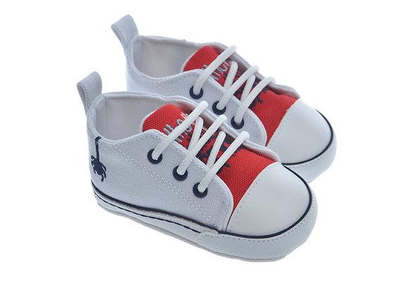 911416 Freesure Beyaz Erkek Bebek Patik  Bebek Ayakkabı