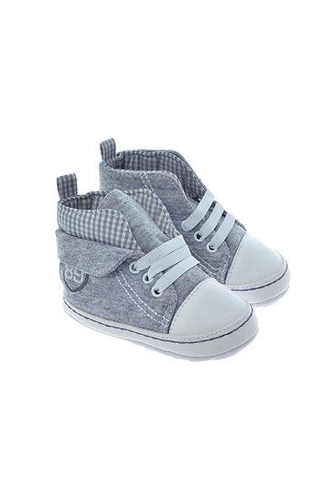 811707 Freesure Gri Erkek Bebek Patik  Bebek Ayakkabı