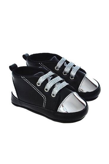 812810 Freesure Gümüş Kız Bebek Patik  Bebek Ayakkabı