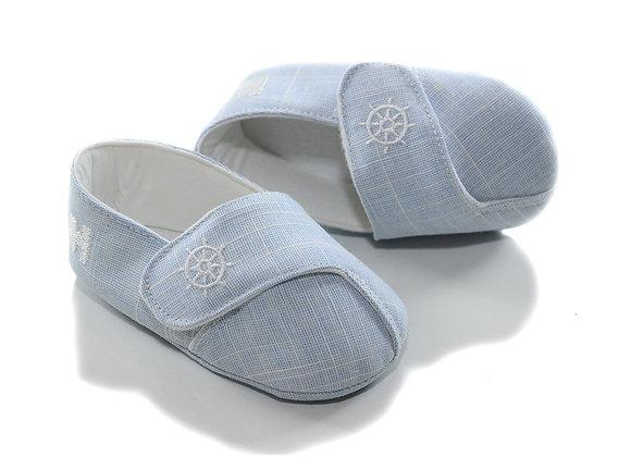 611054 Freesure Mavi Erkek Bebek Patik  Bebek Ayakkabı