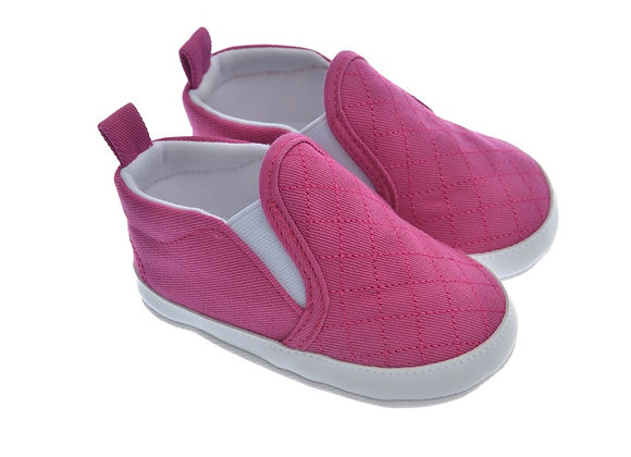 911223 Freesure Fuşya Kız Bebek Patik  Bebek Ayakkabı