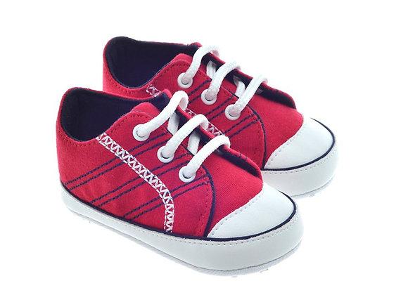 811719  Freesure Kırmızı Erkek Bebek Patik  Bebek Ayakkabı