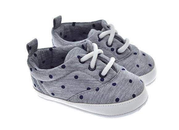 201215 Freesure Gri Erkek Bebek Patik  Bebek Ayakkabı