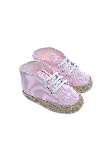 911228 Freesure Pembe Kız Bebek Patik  Bebek Ayakkabı