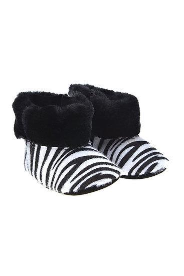 912585 Freesure Beyaz Kız Bebek Patik  Bebek Ayakkabı