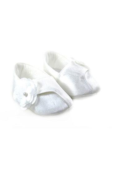 511023 Freesure Beyaz Kız Bebek Patik  Bebek Ayakkabı