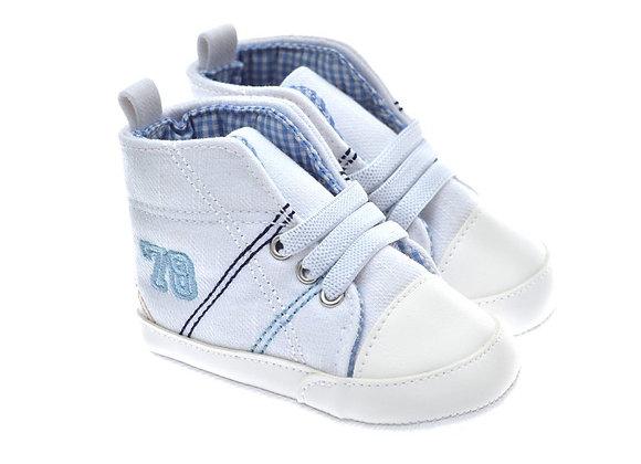 201219 Freesure Beyaz Erkek Bebek Patik  Bebek Ayakkabı