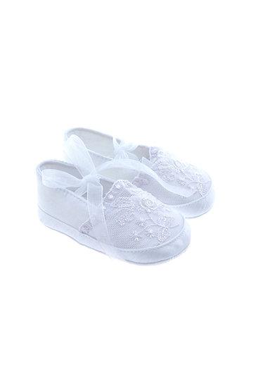 811619 Freesure Beyaz Kız Bebek Patik  Bebek Ayakkabı