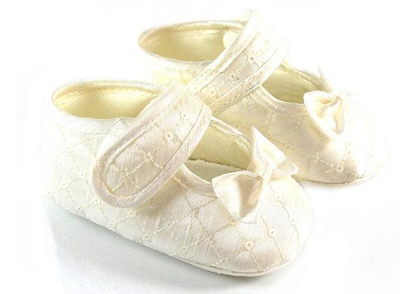 511022 Freesure Ekru Kız Bebek Patik  Bebek Ayakkabı