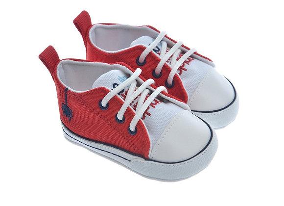 911416 Freesure Kırmızı Erkek Bebek Patik  Bebek Ayakkabı