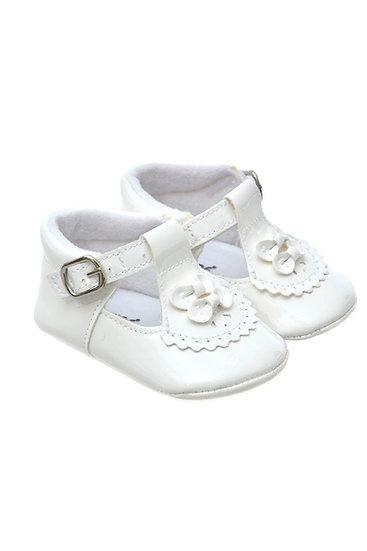 812815 Freesure Beyaz Kız Bebek Patik  Bebek Ayakkabı