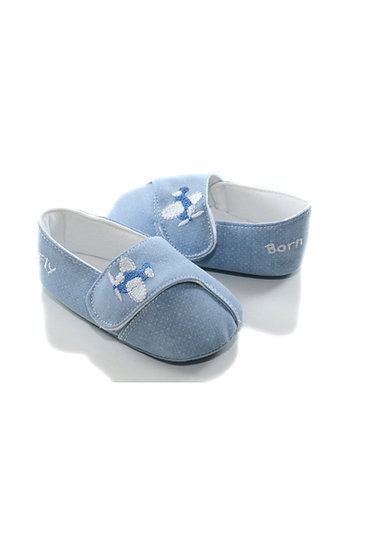 611058 Freesure Mavi Erkek Bebek Patik  Bebek Ayakkabı
