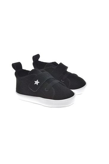 912555 Freesure Siyah Erkek Bebek Patik  Bebek Ayakkabı