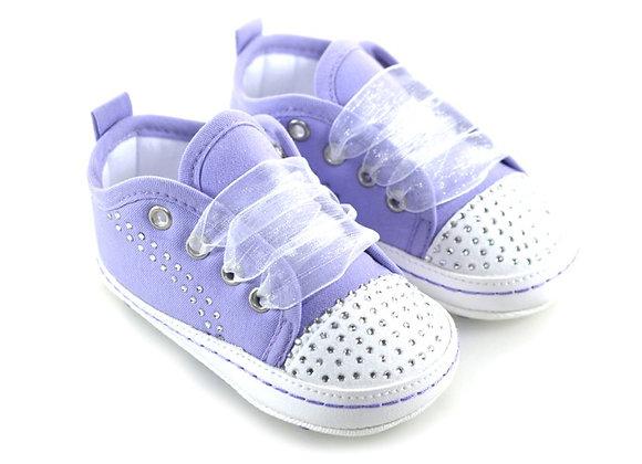 511012 Freesure Lila Kız Bebek Patik  Bebek Ayakkabı
