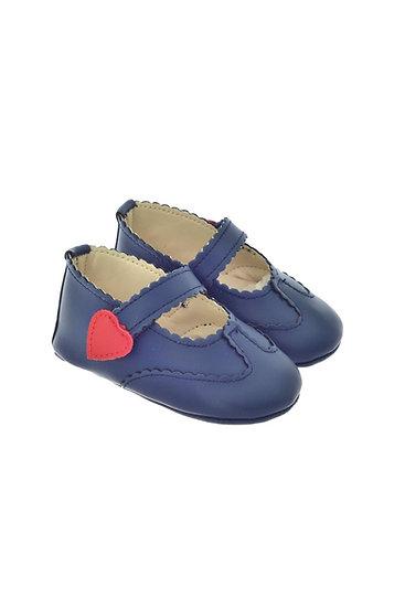 811603 Freesure Lacivert Kız Bebek Patik  Bebek Ayakkabı