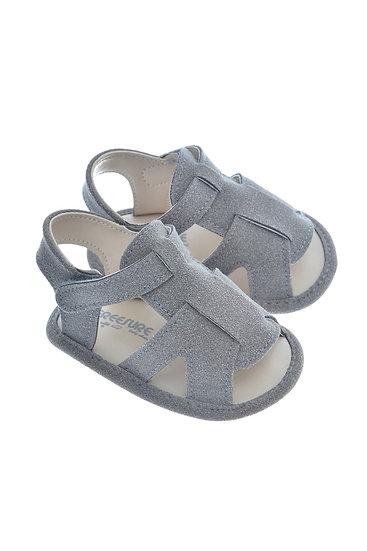 911414 Freesure Gri Erkek Bebek Patik  Bebek Ayakkabı