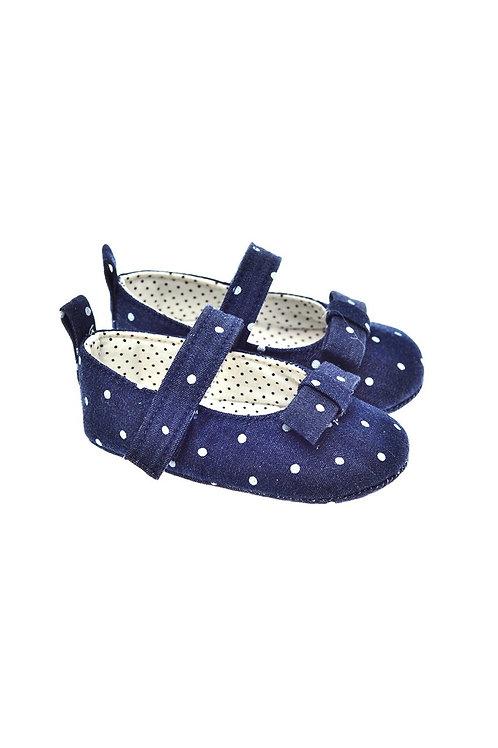 201124 Freesure Koyu Kot Kız Bebek Patik  Bebek Ayakkabı