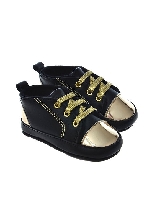 812810 Freesure Gold Kız Bebek Patik  Bebek Ayakkabı