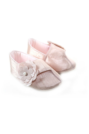 511023 Freesure Gül Kurusu Kız Bebek Patik  Bebek Ayakkabı