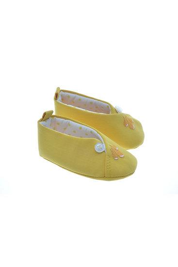 811623 Freesure Sarı Kız Bebek Patik  Bebek Ayakkabı