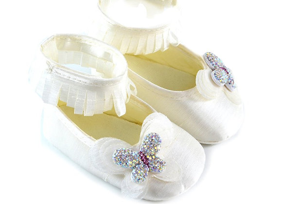 511019 Freesure Ekru Kız Bebek Patik  Bebek Ayakkabı