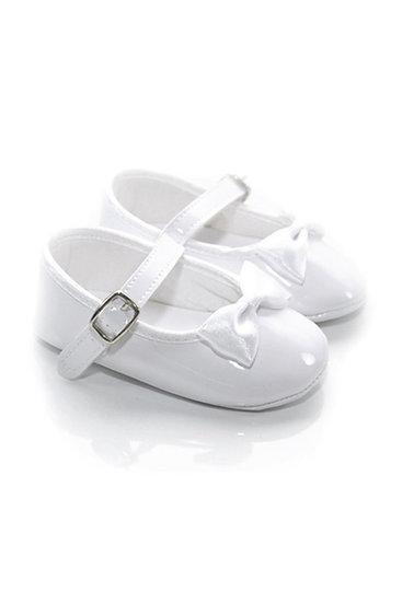 2000 Freesure Beyaz Kız Bebek Patik  Bebek Ayakkabı