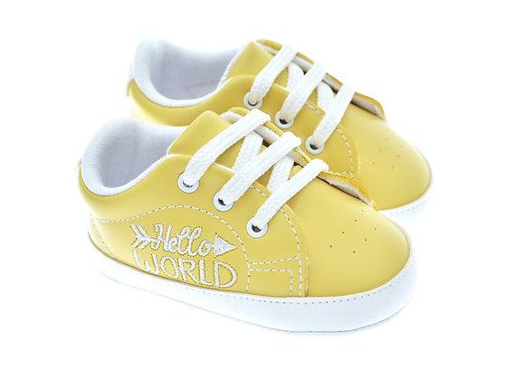 201119 Freesure Sarı Kız Bebek Patik  Bebek Ayakkabı