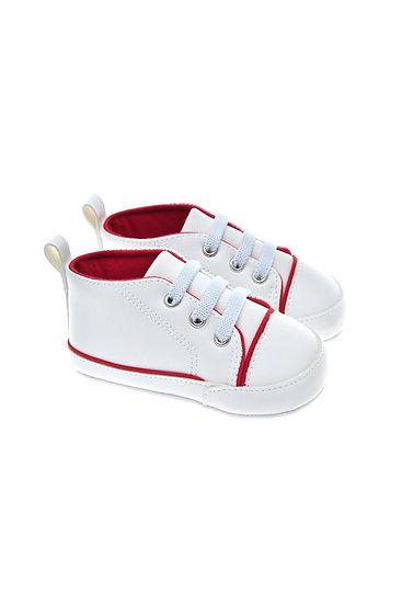 201216 Freesure Kırmızı Erkek Bebek Patik  Bebek Ayakkabı