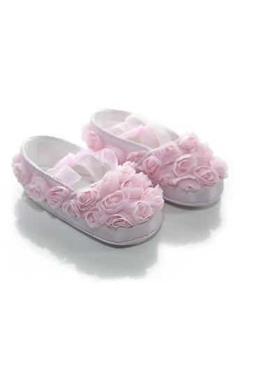 31427 Freesure Pembe Kız Bebek Patik  Bebek Ayakkabı