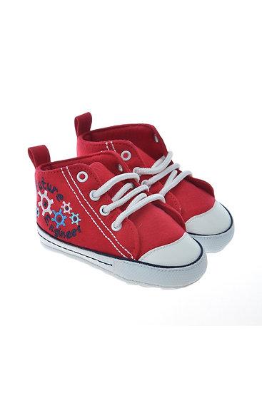 711214 Freesure Kırmızı Freesure Erkek Bebek Patik  Bebek Ayakkabı