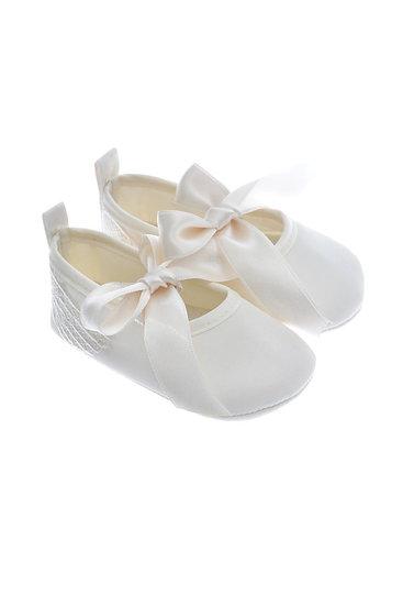911227 Freesure Ecru Kız Bebek Patik  Bebek Ayakkabı