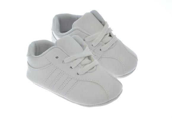 811702 Freesure Beyaz Erkek Bebek Patik  Bebek Ayakkabı