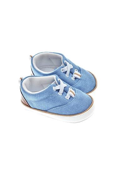201210 Freesure Açık Kot Erkek Bebek Patik  Bebek Ayakkabı