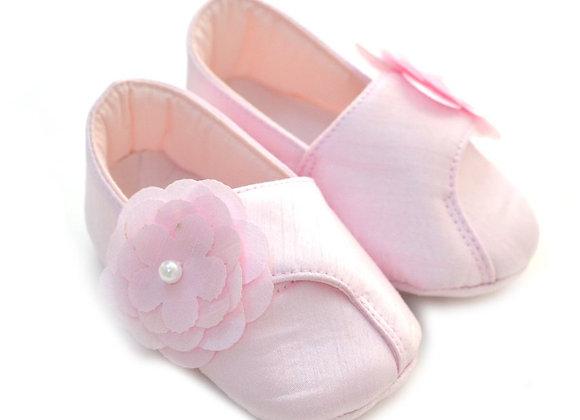 511023 Freesure Pembe Kız Bebek Patik  Bebek Ayakkabı